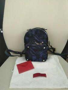 100% Authentic VALENTINO GARAVANI Rockstud Backpack Butterfly Mini