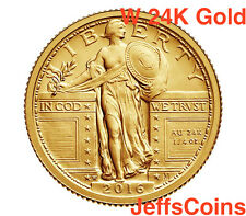 2016 W Standing Liberty Quarter Centennial Gold Coin .9999 16xc Silver 25¢