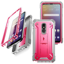 Poetic [Revolution Series] For LG Stylo 5 Case w/Screen Protector Cover Pink
