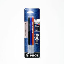 Pilot Frixion Ball Erasable Gel Ink Refills 10mm Bold Point Blackbluered