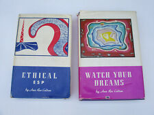 ESP Dreams Ethical Use Spirituality Christian Psychic Reference Vintage 1970s