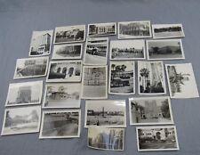 Estate Lot 23 Vintage Architecture Photographs Black & White Photos Mid-Century