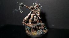 Warhammer 30k painted Mortarion the Reaper Primarch of the Death Guard
