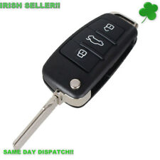 Audi Key A3 A4 A6 A8 TT Q5 Q7 Key Fob 3 Button KEY FOB REMOTE CASE (WITH BLADE!)