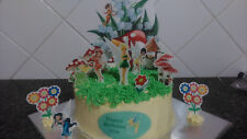 Personalised Tinkerbell Scene Wafer Edible Cake Decoration Set