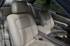 1992-1998 Lexus SC300 SC400 Synthetic Leather Front Seat Covers Tan