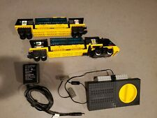 LEGO 4559 Trains 9V Cargo Railway Train Complete 100 % Working. No tracks, truck