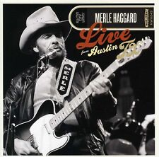Merle Haggard - Live from Austin Texas [New CD]