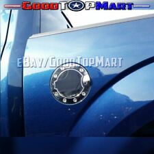 For Ford F150 2004 05 2006 2007 2008 Chrome STEEL Gas Door Cover METAL Tank Cap