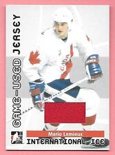 06/07 ITG Used Signature Series International Ice Mario Lemieux Jersey SP/100