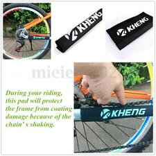 Black Bike Bicycle Chainstay Frame Protector Cover Chain Stay Guard MTB Care