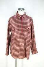 NIGEL CABOURN MEN's Shirt White & Beige & Red