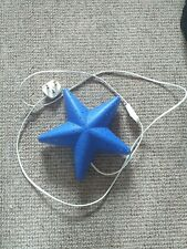 Blue Star Night Light