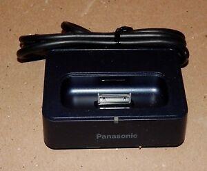 Panasonic TNM2AX0013 Charging Cradle RGN2935 Universal Dock for iPod NIB 173H