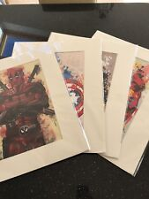 Marvel Character Prints/posters iron man/captain America/Wolverine/Deadpool