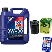 Inspection Kit Filter LIQUI MOLY Oil 5L 0W-30 for Mitsubishi Outlander (III Gg _
