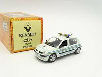 NOREV Hachette 1/43 - Renault Clio Police Uncirculated