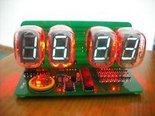 KIT IV-22 VFD CLOCK WITH RED BACKLIGHT NIXIE ERA [USB Powered]