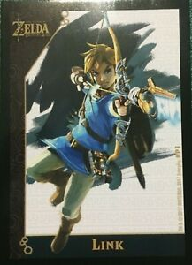 2017 Enterplay Legend Of Zelda Breath Of The Wild Character/Puzzle Cards