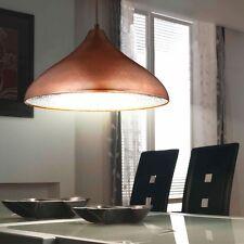 ANCIEN LUMINAIRE PLAFOND CUIVRE Entrepôt éclairage Loft Lampe suspendue atelier