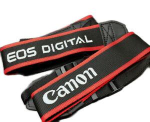 Embroidered Shoulder Neck Strap for Canon EOS DIGITAL Camera DSLR - UK SELLER