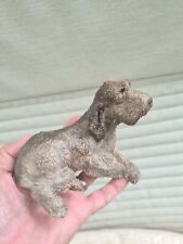 More details for italian spinone figurine ornament model in hand painted resin