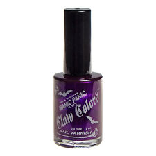 MANIC PANIC Claw Colors - PLUM PASSION - Nail Polish  Makeup .5 oz  BRAND NEW!