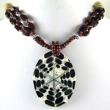Stunning Cone Shell Beads necklace ; Da053