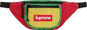 SUPREME String Waist Bag Multicolor rasta box logo S/S 21