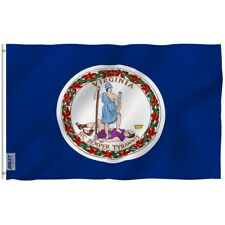 Anley Fly Breeze 3x5 Foot Virginia State Polyester Flag Virginia VA State Flags