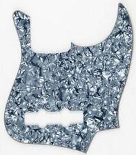 NEW PICKGUARD Jazz Bass grey pearloid 3 ply pour guitare JBass