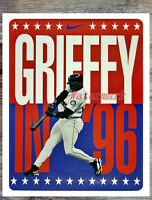 MLB Ken Griffey Jr. Seattle Mariners Color 16 X 20 Photo Poster