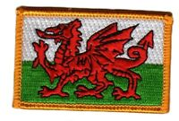 WALES WELSH FLAG PATCHES COUNTRY PATCH BADGE IRON ON NEW EMBROIDERED