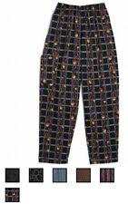 NWT Dickies CW050101 Cotton Baggy Boxer Band Drawstring Kitchen Chef Pants XS-3X