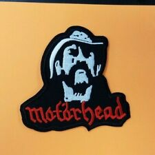 MOTORHEAD LEMMY EMBROIDERED PATCH !