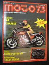 Moto 73 #20 3 oktober 1980 (NL) poster Iprem 50 #1 Eugenio Lazzarini (ITA)