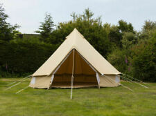 Andes 4m Canvas Bell Tent with Heavy Duty Zig Groundsheet