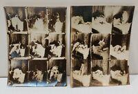 Pair of Circa 1900 French Wedding Night Couple Pornographic Photographs
