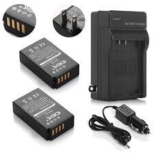 TWO Batteries + Charger For Nikon EN-EL20 Coolpix A, 1 J1, J2, J3, S1, V3, AW1