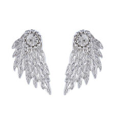 Stud Angel Wings Rhinestone Gothic Earrings Gifts Cool Jewelry Hot Alloy Women