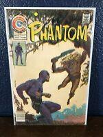 RARE Cover Art Printing Error PHANTOM #68 Charlton Comics 1975 Bronze-Age