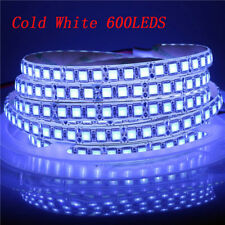 5M 5054 LED Flexible Strip Light 600LEDs IP68 Tube Waterproof 12V Single Ro