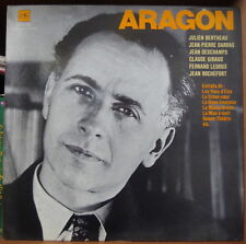ARAGON/GEORGES HACQUARD FRENCH LP DISQUES HACHETTE COLLECTION PHARES