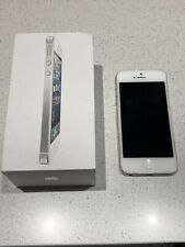 Apple iPhone 5 White & Silver 16GB (unlocked) - Mint Condition
