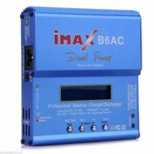 Blue iMAX B6 AC B 6AC Lipo NiMH 3S RC Battery Balance Charger of RC hobby top