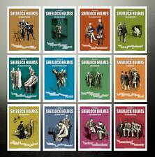 Le memorie di Sherlock Holmes, Set di 12 7x5 stampe a colori illustrato, S Paget