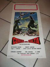 LOCANDINA,AI CONFINI DELLA REALTA,Godzilla vs. Megalon Fukuda 1973, SCI FI