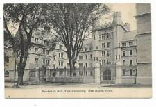 Vintage Connecticut Postcard Vanderbilt Hall Yale University New Haven