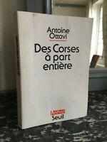 Antonio Ottavi Delle Della Corsica Con Ccl Intera Storia Immediato Soglia 1979