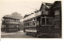 Old Photograph of Two  Dover Tram's In London Road